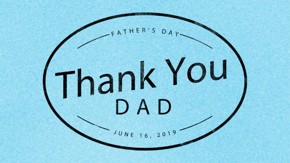 Thank You Dad Image