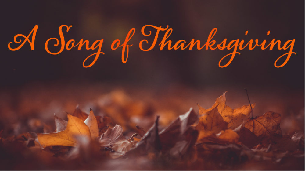 Song of Thanksgiving Image
