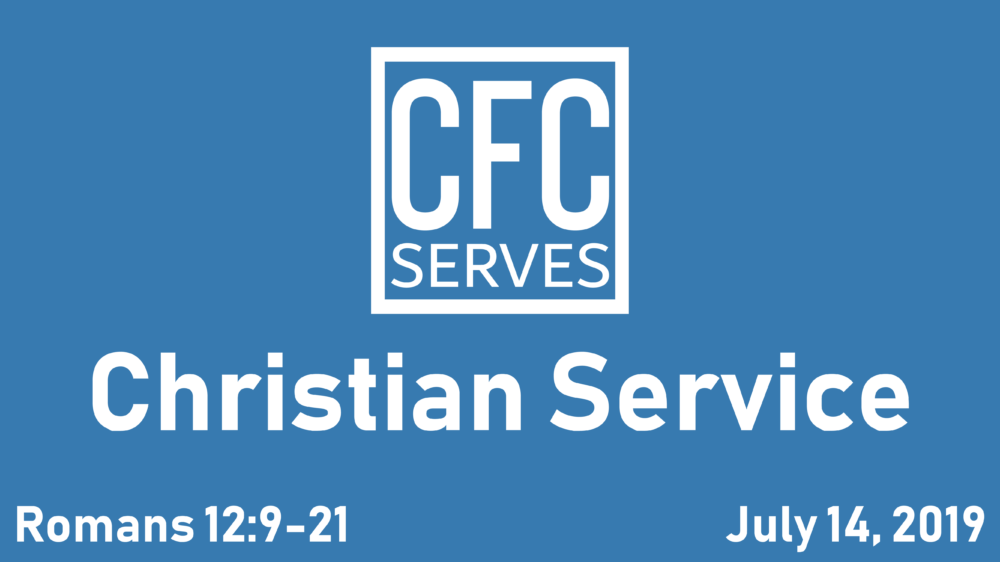 Christian Service Image